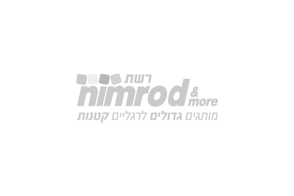 קרסוליות בנות מיני  מאוס אפור/ורוד 27